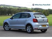 2017 Volkswagen Polo Match Edition 1.2 TSI 90PS 5-speed Manual 5 Door Petrol sil