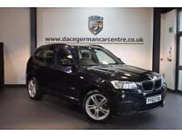 2013 62 BMW X3 2.0 XDRIVE20D M SPORT 5DR AUTO 181 BHP DIESEL