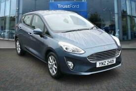2018 Ford Fiesta 1.1 Zetec Navigation 5dr Contactless Delivery Available Manual