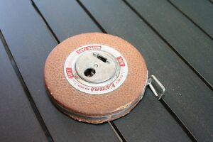 Vintage 50 Ft Tape Measures - 2 of them - $5 EACH