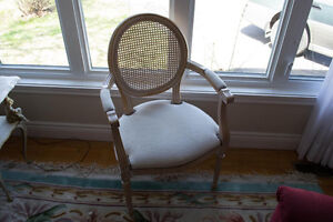 French Provincial style chairs