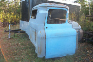 58 GMC cab and parts