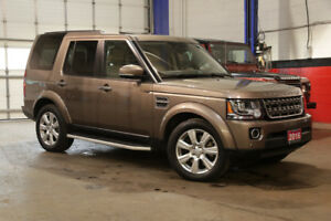 2016 LAND ROVER LR4 HSE CLEAN CARFAX, ONTARIO VEHICLE