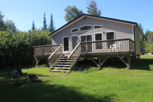 Cottage for Rent - Lake Front - Private Beach