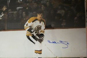 Bobby Orr Autographed 16x20 Photo, For the serious Bruins fan!