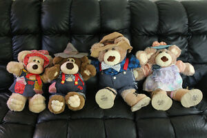 Furskins and Country Bears Dolls 1980's