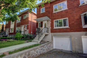 Large Renovated 3 BDRM Semi-Detached Cottage for Rent in NDG
