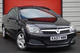 2007 07 VAUXHALL ASTRA 1.6 TWIN TOP 3D 115 BHP
