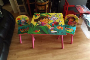 Dora Table with 2 Chairs  $ 30.00
