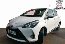 2018 Toyota YARIS HATCHBACK 1.5 Hybrid Excel 5dr CVT Auto Hatchback Petrol/Elect