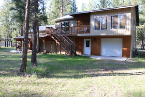 Large Acreage on Lake Koocanusa in Mt., USA, with Cabin and Shop