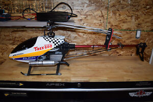Nitro/Electric RC helicopters Trex 600/450