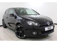 2012 12 VOLKSWAGEN GOLF 2.0 GT TDI BLUEMOTION TECHNOLOGY 3DR 138 BHP SAT NAV DIE