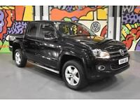 2014 VW AMAROK DOUBLE CAB 2.0BITDI HIGHLINE 180PS 4MOTION PICK UP BLACK