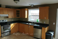 Kitchen Cabinet Spraying and Refinishing ☆ 902-209-0515 ☆