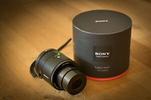 SONY Cyber-Shot DSC-QX100 Lens-Style Camera + Soft Carrying Case