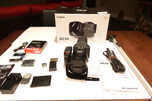 Canon XC10 with extra Video Gear