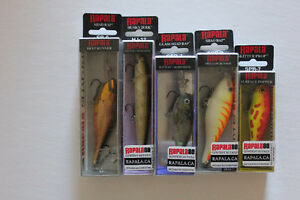 Papala set of ( 5 lures) all new