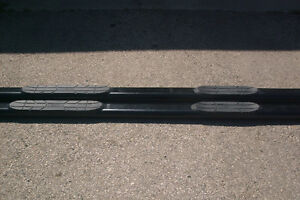"""4"""" Oval Black Westin Step Bars for 2009-14 Ford Supercrew London Ontario image 2"""
