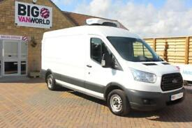 2014 FORD TRANSIT 310 TDCI 125 L3 H2 FRIDGE LWB MEDIUM ROOF FWD INSULATED/REFRIG