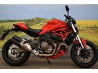 Ducati Monster 821 **Ducati Safety Pack, Brembo Brakes, Belly Pan**