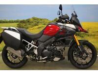 Suzuki DL1000 2014**ABS, HAND GUARDS, HEATED GRIPS, PANNIERS, GEAR INDICATOR**