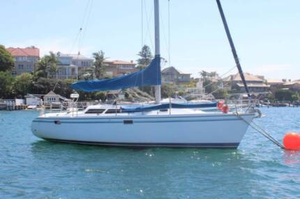 MANLY - 1/3 share in 32 foot 1997 Catalina 320 yacht - sleeps 7