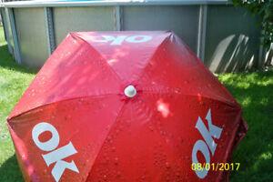Parasol en vinyle Coke
