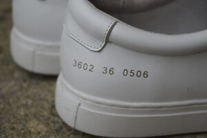 Woman by Common Projects Achilles low Cambridge Kitchener Area image 3