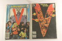 V The Visitors Are Our Friends Issue #1 & #4