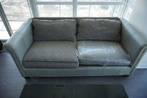 BARELY USED DESIGNER SOFA FOR SALE