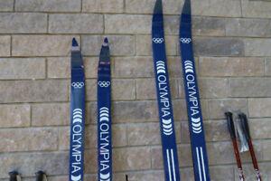 Deux ensemble Ski de fond Olympia