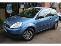 2003 Ford Fiesta 1.4i 16v LX A/C Blue Great First Car Low Ins Banding