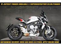2014 14 MV AGUSTA DRAGSTER 800 BRUTALE 800CC 0% DEPOSIT FINANCE AVAILABLE