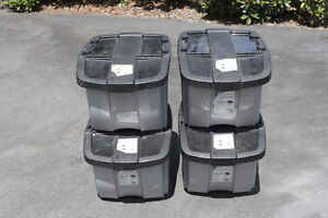 Four Storage Bins - Flexible Use Options