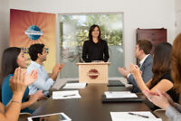 Get Better At Public Speaking with Cabot Toastmasters
