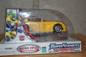 Transformers Alternators #18 Sunstreaker Dodge Viper