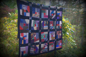 VINTAGE 'CRAZY QUILT' FROM THE 1930's