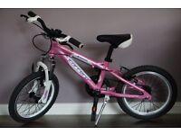 "16"" Carrera Girls Bike-lightweight, superior quality RRP ��199"
