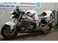 2002 HONDA VTR 1000 SP2 RC51, WHITE **CUSTOM IMPORT** FANTASTIC BIKE!