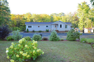Renovated bungalow on 5 acres