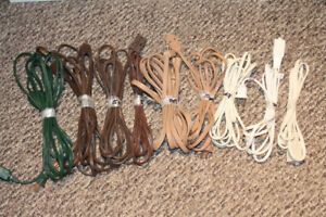 9 Light Duty Extension Cords - Various Lengths ($20 for all 9)