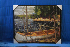 """Tom Thomson """"The Canoe"""" Regal Collection Giclee Canvas London Ontario image 2"""