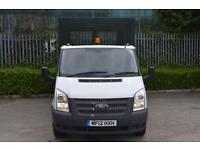2.2 T350 RWD 2D 99 BHP MWB DIESEL MANUAL CAGED TIPPER VAN 2012
