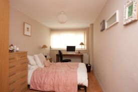 A big double Bedroom in a friendly house share
