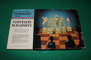 Napoleon Bonaparte Chess Set # 203  Edition II 1966