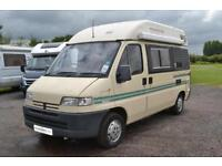 Holdsworth Tempo High Top Motorhome for Sale 2 Berth 3 Seatbelts Petrol and LPG