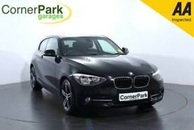 2013 BMW 1 SERIES 116D SPORT HATCHBACK DIESEL