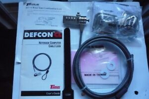 Targus Defcon Laptop Security Cable Lock