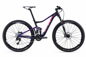 stolen ladies LIV purple bicycle
